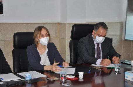 منظمة IPSO تدعم دائرة صحة دهوك