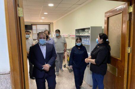 مدير صحة محافظة دهوك يزور مستشفيات زاخو