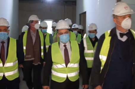 Dr. Afrasiab Musa, Director General of Health in Dohuk Governorate, and Deputy German Consul in Kurdistan visited the new 130-bed emergency