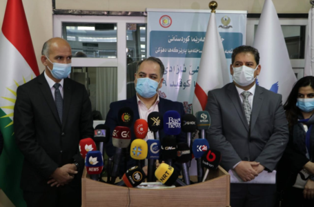 The Director General of Health in Duhok Governorate announced the start of the vaccination campaign against Corona virus for the workers in Corona